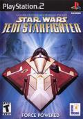 Star Wars: Jedi Starfighter PlayStation 2 Front Cover