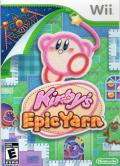 Kirby's Epic Yarn Wii Front Cover