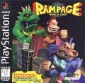 Rampage World Tour PlayStation Front Cover