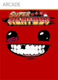 Super Meat Boy Xbox 360 Front Cover
