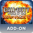 Call of Duty: World at War - Map Pack 3 PlayStation 3 Front Cover