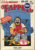 Tapper Atari 2600 Front Cover