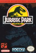 Jurassic Park NES Front Cover