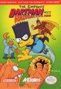 The Simpsons: Bartman Meets Radioactive Man NES Front Cover