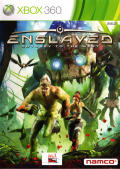 Enslaved: Odyssey to the West Xbox 360 Front Cover