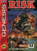 Risk: Parker Brothers' World Conquest Game Genesis Front Cover