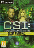 CSI: Crime Scene Investigation - Fatal Conspiracy  Windows Front Cover