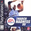 NCAA March Madness 99 PlayStation Front Cover