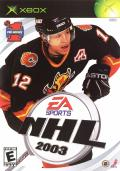 NHL 2003 Xbox Front Cover