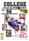 College Football USA 96 Genesis Front Cover