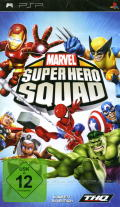 Marvel Super Hero Squad PSP Front Cover