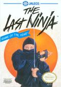 Last Ninja 2: Back with a Vengeance NES Front Cover