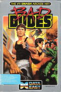 Bad Dudes DOS Front Cover