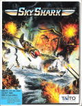 Sky Shark DOS Front Cover