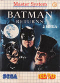 Batman Returns SEGA Master System Front Cover