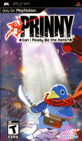 Prinny: Can I Really Be the Hero? PSP Front Cover