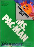 Ms. Pac-Man Commodore 64 Front Cover