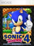 Sonic the Hedgehog 4: Episode I Xbox 360 Front Cover