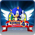 Sonic the Hedgehog 4: Episode I PlayStation 3 Front Cover