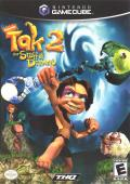 Tak 2: The Staff of Dreams GameCube Front Cover