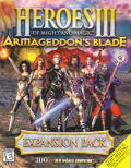 Heroes of Might and Magic III: Armageddon's Blade Windows Front Cover
