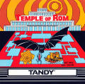 Temple of Rom TRS-80 CoCo Front Cover