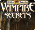 Hidden Mysteries: Vampire Secrets Windows Front Cover