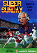 Super Bowl Sunday Apple II Front Cover