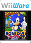 Sonic the Hedgehog 4: Episode I Wii Front Cover first version