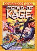 The Legend of Kage Commodore 64 Front Cover