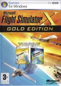 Microsoft Flight Simulator X: Gold Edition Windows Front Cover
