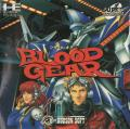 Blood Gear TurboGrafx CD Front Cover