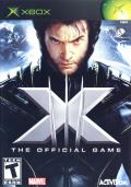 X-Men: The Official Game Xbox Front Cover