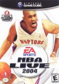 NBA Live 2004 GameCube Front Cover