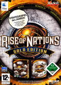 Rise of Nations: Gold Edition Macintosh Front Cover