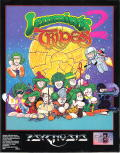 Lemmings 2: The Tribes DOS Front Cover