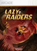Lazy Raiders Xbox 360 Front Cover