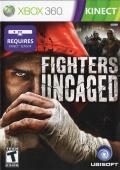 Fighters Uncaged Xbox 360 Front Cover