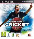 International Cricket 2010 PlayStation 3 Front Cover