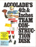 4th & Inches Team Construction Disk DOS Front Cover