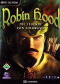 Robin Hood: The Legend of Sherwood Macintosh Front Cover