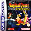 Disney's Magical Quest Starring Mickey & Minnie Game Boy Advance Front Cover