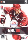 NHL 08 Windows Front Cover