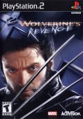 X2: Wolverine's Revenge PlayStation 2 Front Cover