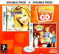Disney on the Go - Double Pack: Hannah Montana / The Suite Life of Zack & Cody: Circle of Spies Nintendo DS Front Cover