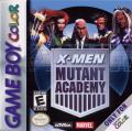 X-Men: Mutant Academy Game Boy Color Front Cover