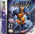 X-Men: Wolverine's Rage Game Boy Color Front Cover