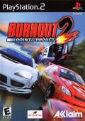 Burnout 2: Point of Impact PlayStation 2 Front Cover