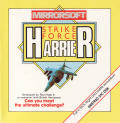 Strike Force Harrier Amstrad CPC Front Cover