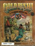 Gold Rush! Apple II Front Cover